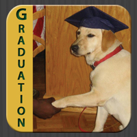 Graduating assistance dog